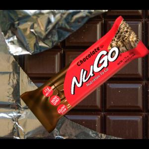 חטיף בריאות NuGo – בטעם שוקולד (מארז של 15 יח')