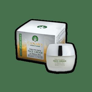 קרם פנים לעור מבוגר – Cannara