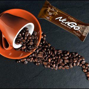 חטיף בריאות NuGo – בטעם קפה (מארז של 15 יח')