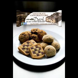 חטיף בריאות טבעוני NuGo Dark – בטעם שוקולד צ'יפס (מארז של 12 יח')