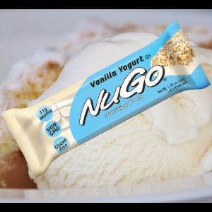 חטיף בריאות NuGo – בטעם וניל (מארז של 15 יח')