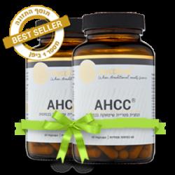 תמצית פטריית שיטאקה – AHCC (מבצע זוגות!)